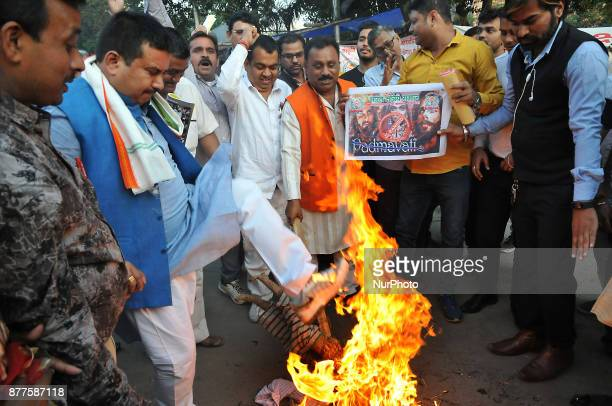 Akhil Bhartiya Shakti Samaj launched a signature campaign Bran effigy of Film Director Sanjay Leela Bhansali and protest against the release of the...
