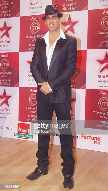 Akhshay Kumar on the sets of the show Master Chef India in Mumbai on September 8 2010