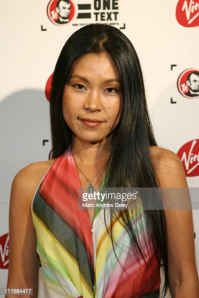 Akiko Agawa during 2006 MTV Video Music Awards Virgin Mobile VMA After Party Arrivals at Gotham Hall in New York City New York United States