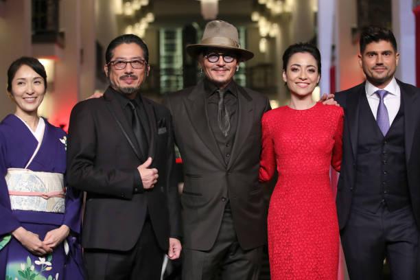 "DEU: ""Minamata"" Premiere - 70th Berlinale International Film Festival"