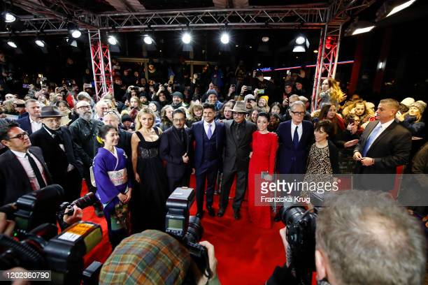 Akiko Iwase Katherine Jenkins Hiroyuki Sanada Johnny Depp Minami director Andrew Levitas Johnny Depp Minami Bill Nighy and Aileen Mioko Smith arrive...