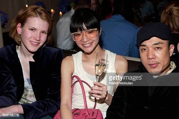 Akiko Saeki and Noriyuki Matsuura attend Humberto Petit's Birthday Bash Hosted by Malik Sterling and Peter Sisson at Gramercy Park Hotel on April 14...