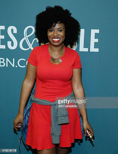 Akilah Hughes attends as Sophia Rivka Rossi discusses her new book ' A Tale Of Two Besties' at Barnes Noble Tribeca on May 28 2015 in New York City