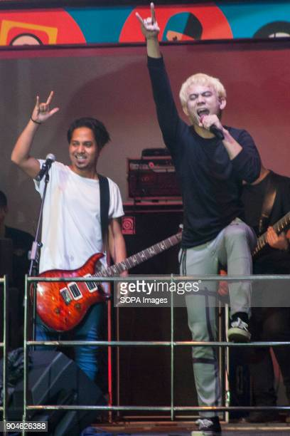 Akim The Majistret is seen at the Gegaria Fest held at Shah Alam Selangor Gegaria Fest is a festival with a goal of uniting youth and encouraging...