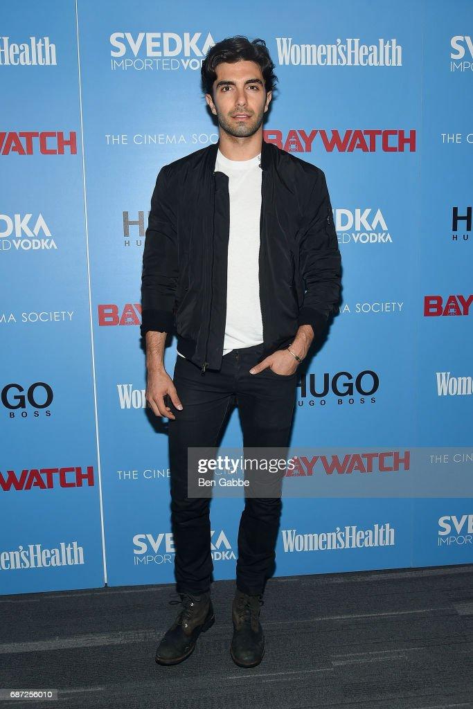 "The Cinema Society Hosts A Screening Of ""Baywatch"""