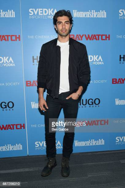 Akin Akman attends The Cinema Society Screening of 'Baywatch' at Landmark Sunshine Cinema on May 22 2017 in New York City