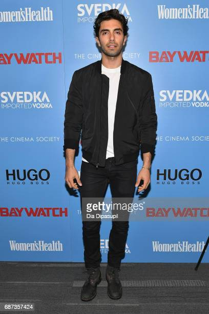 Akin Akman attends The Cinema Society's Screening Of 'Baywatch' at Landmark Sunshine Cinema on May 22 2017 in New York City
