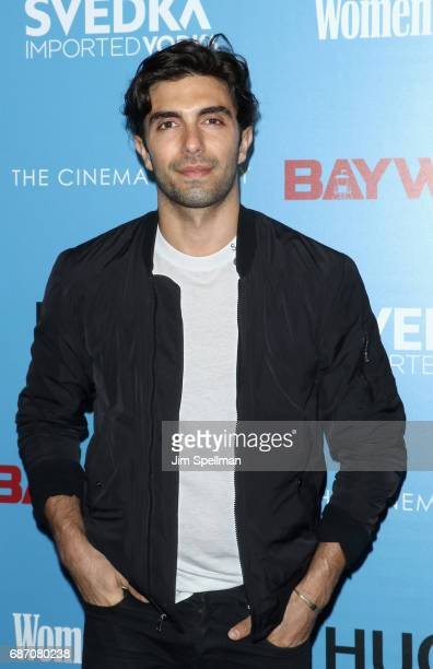 Akin Akman attends the screening of 'Baywatch' hosted by The Cinema Society at Landmark Sunshine Cinema on May 22 2017 in New York City