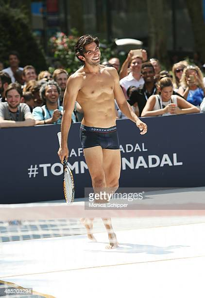 Akin Akman attends the Tommy Hilfiger And Rafael Nadal Global Brand Ambassadroship Launch Event at Bryant Park on August 25 2015 in New York City