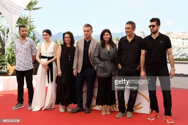 Akin Aksu Hazar Erguclu Bennu Yildirimlar Murat Cemcir writer Ebru Ceylan director Nuri Bilge Ceylan and actor Dogu Demirkol attend Ahlat Agaci...
