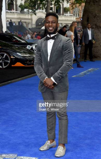 Akin SolankeCaulker attends the global premiere of 'Transformers The Last Knight' at Cineworld Leicester Square on June 18 2017 in London England