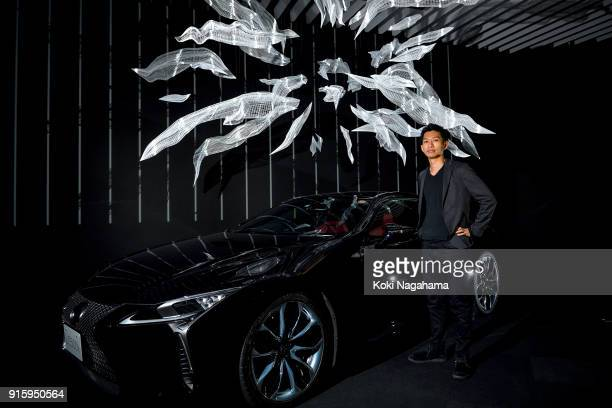 Akinori Goto poses for a photograph at the Media Ambition Tokyo at Roppongi Hills on February 8 2018 in Tokyo Japan The human body is capable of...