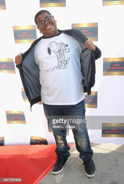 Akinyele Caldwell arrives for Jax Malcolm's 3rd Annual #ActionJax Movie Morning Fundraiser held at the Vista Theatre on October 7 2018 in Los Angeles...