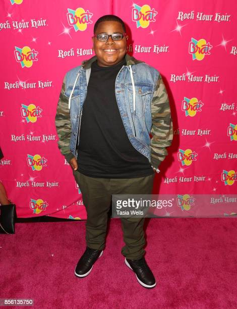 Akinyele Caldwell at Rock Your Hair Presents Rock Back to School Concert Party on September 30 2017 in Los Angeles California