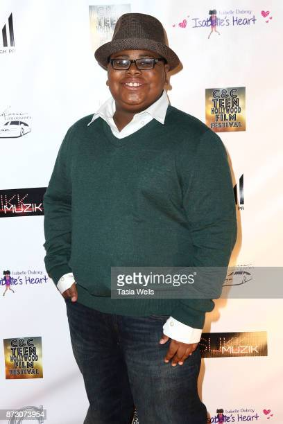 Akinyele Caldwell at the 4th Annual CC Teen Hollywood Film Festival at Raleigh Studios on November 11 2017 in Los Angeles California