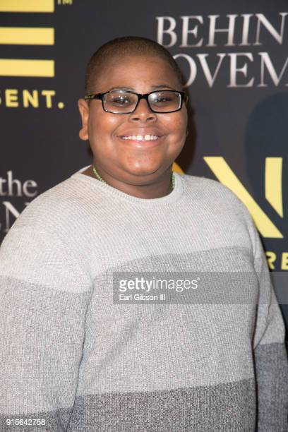 Akinyele Caldwell attends 'Behind The Movement' Los Angeles Premiere at Harmony Gold Theatre on February 7 2018 in Los Angeles California