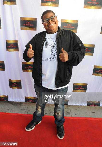 Akinyele Caldwell attends Jax Malcolm's #ActionJax Movie Morning Fundraiser at the Vista Theatre on October 7 2018 in Los Angeles California