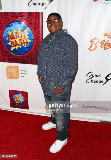 Akinyele Caldwell attends Spreading the Love event at Starwest Studios on April 7 2018 in Burbank California