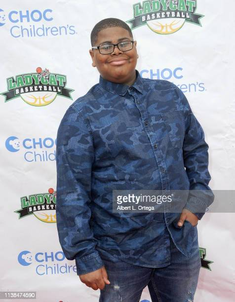 Akinyele Caldwell attends the 3rd Annual 'Play For A Cure' Celebrity Basketball Game To Benefit CHOC Children's Foundation held at Brea Olinda High...