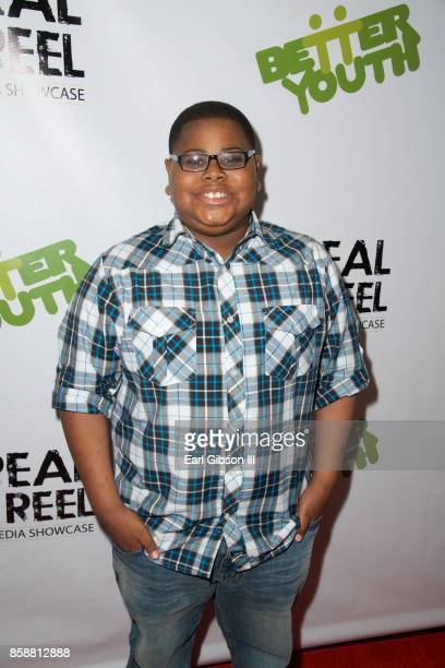 Akinyele Caldwell attends the 3rd Annual Real To Reel Global Youth Film Festival at Los Angeles Film School on October 7 2017 in Los Angeles...