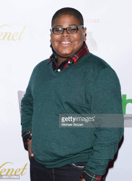 Akinyele Caldwell attends The Artists Project Boo2Bullying Toy Drive to Benefit the Los Angeles Fire Department on December 14 2017 in Los Angeles...
