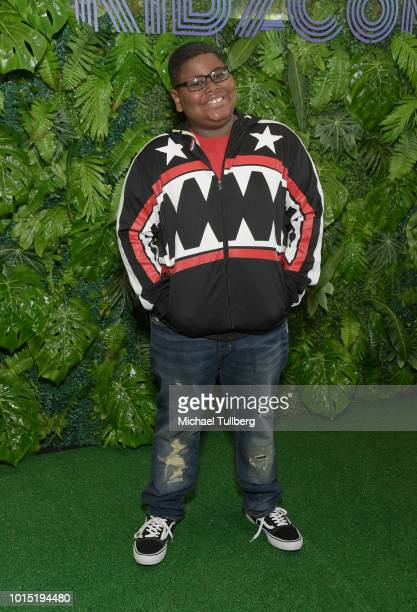 Akinyele Caldwell attends the VIP Preview Of KIDZCON 2018 at The Reef on August 11 2018 in Los Angeles California