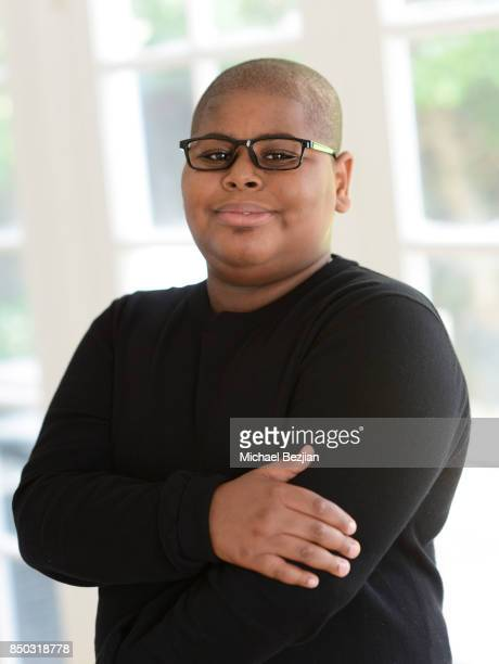 Akinyele Caldwell poses for portrait at New Faces At The Artists Project on September 20 2017 in Los Angeles California