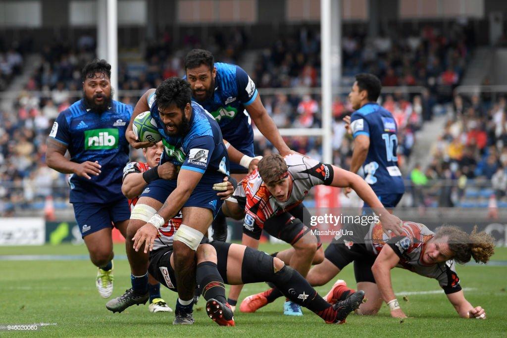 Super Rugby Rd 9 - Sunwolves v Blues : News Photo