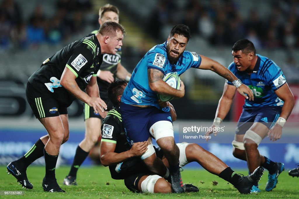 Super Rugby Rd 12 - Blues v Hurricanes : News Photo
