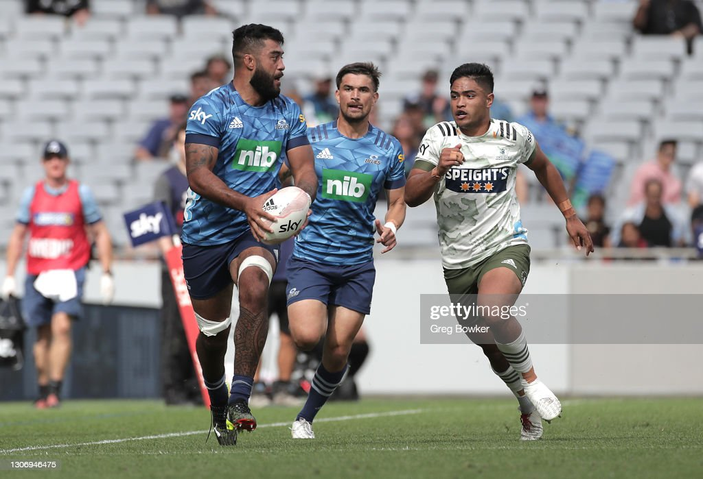 Super Rugby Aotearoa Rd 3 - Blues v Highlanders : News Photo