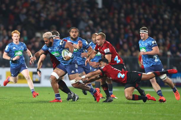 NZL: Super Rugby Aotearoa Rd 5 - Crusaders v Blues