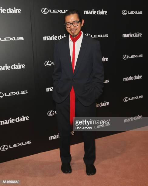 Akira Isogawa arrives ahead of the 2017 Prix de Marie Claire Awards on August 15 2017 in Sydney Australia