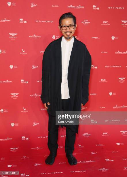 Akira Isogawa attends the inaugural Museum of Applied Arts and Sciences Centre for Fashion Bal at Powerhouse Museum on February 1 2018 in Sydney...