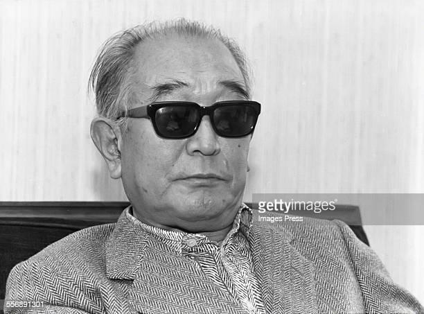 Akira Kurosawa circa 1980 in New York City
