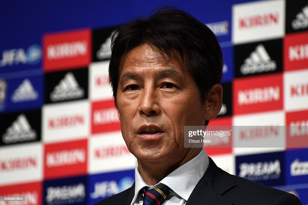Japan Football National Teams 2017 Schedule Press Conference : ニュース写真