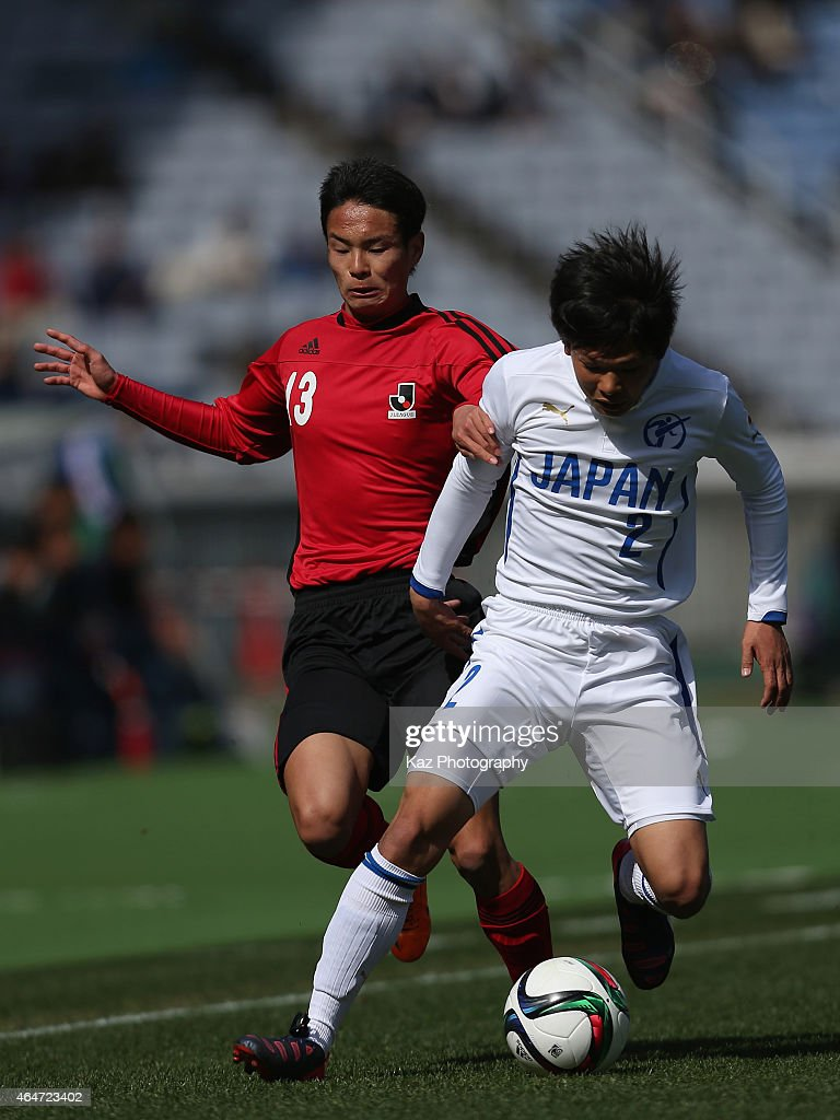 U-18 J.League XI v Japan High School XI - Next Generation Math