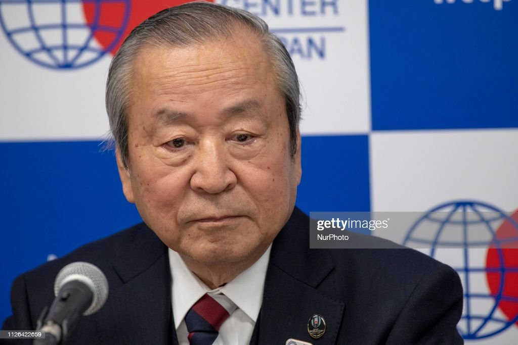 JPN: Rugby World Cup 2019 Press Conference In Japan