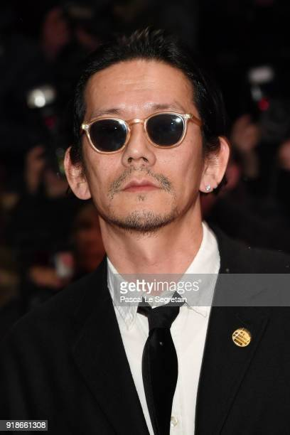 Akira Takayama attends the Opening Ceremony 'Isle of Dogs' premiere during the 68th Berlinale International Film Festival Berlin at Berlinale Palace...