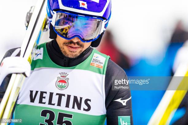 Akito competes at Nordic Combined PCR/Qualification round at Lahti Ski Games in Lahti Finland on 8 February 2019
