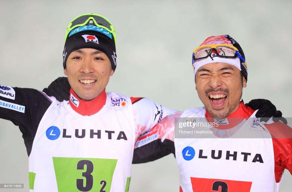 Men's Nordic Combined HS130 Team Sprint - FIS Nordic World Ski Championships : ニュース写真