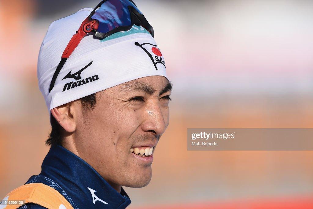 FIS Nordic Combined World Cup Hakuba - Day 1 : ニュース写真