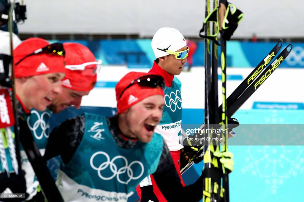 Nordic Combined - Winter Olympics Day 11 : News Photo