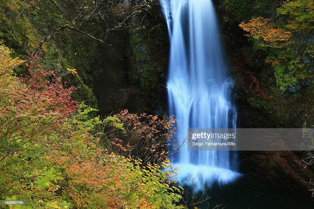Akiu Great Falls, Miyagi Prefecture : Stock Photo