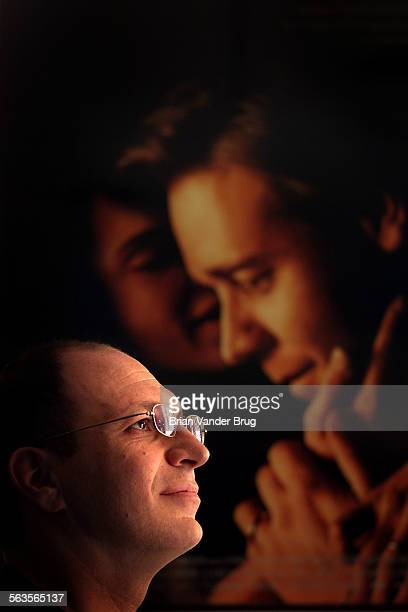 Akiva Goldsman won a Golden Globe award for best screenwirting for the movie A Beautiful Mind Photographed with a poster from the film featuring...
