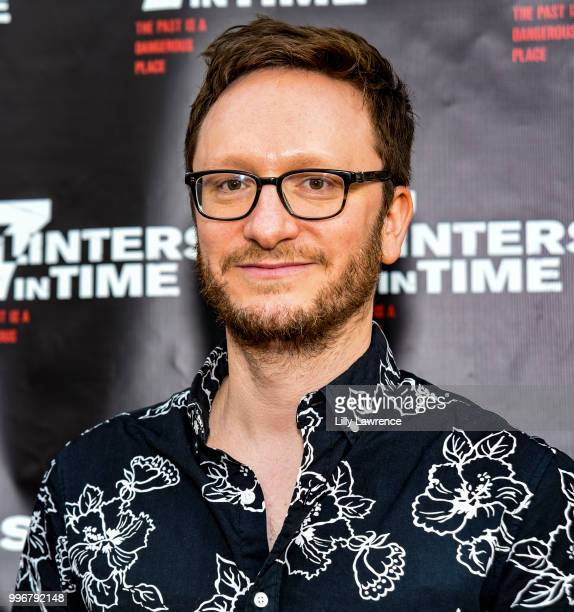 Akiva Schaffer arrives at the '7 Splinters In Time' Premiere at Laemmle Music Hall on July 11 2018 in Beverly Hills California