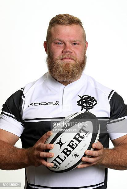 Akker van der Merwe of the Barbarians poses for a portrait during the Barbarians Squad photo call on November 1 2016 in London England The Barbarians...