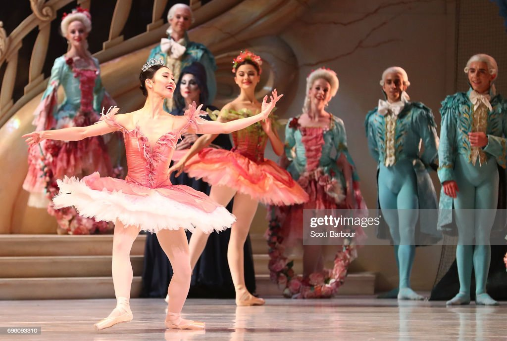 The Sleeping Beauty Dress Rehearsal : News Photo