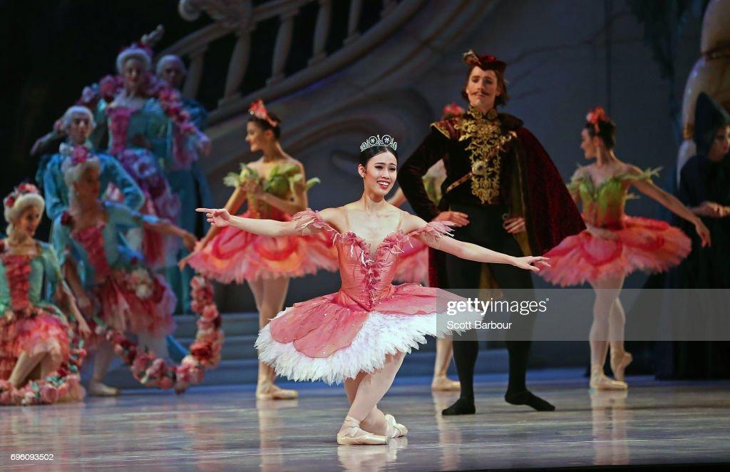 The Sleeping Beauty Dress Rehearsal : News Photo