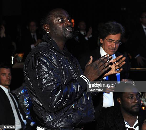 Akon at the 52nd Annual GRAMMY Awards Salute To Icons Honoring Doug Morris held at The Beverly Hilton Hotel on January 30 2010 in Beverly Hills...