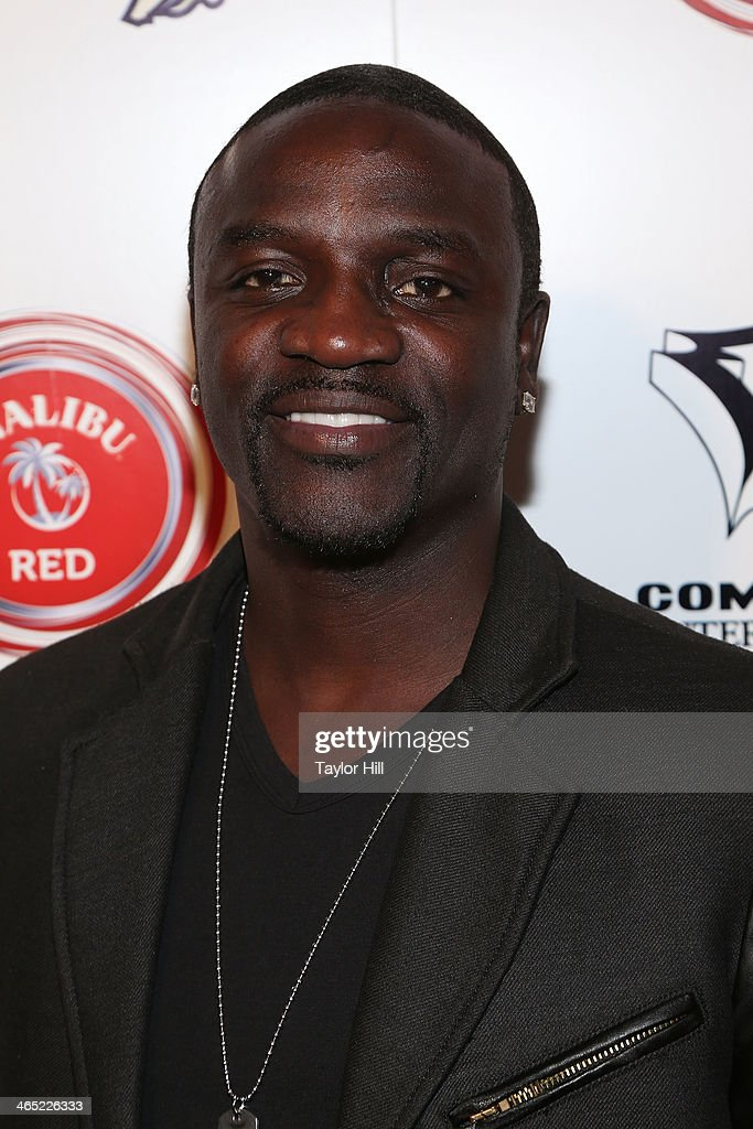 Akon attends Ne-Yo & Compound Entertainment Present: The 6th Annual Grammy Midnight Brunch at Lure on January 25, 2014 in Hollywood, California.